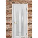 Дверь  Тоскана 5 ,стекло Решетка, цвет Пломбир